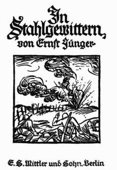 Storm of Steel, Ernst Junger