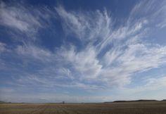 """April Sky"" digital photograph by Cris Fulton, Bowman, North Dakota, 2013."