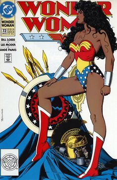 via Tumblr; who knew Wonder Woman had a twin sister - Nubia--- Nubia Wonder Woman (Nubia was the black wonder woman from the comic)