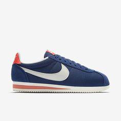 nike classico cortez rosso, bianco e blu dei formatori scarpe   calzini