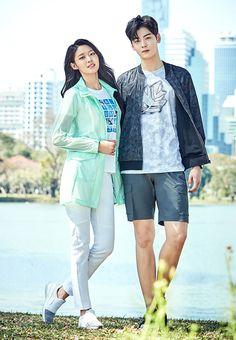 Seolhyun and Cha Eun Woo // Lafuma