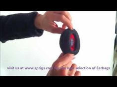 Earbags Bandless Earmuffs - Product Demo - YouTube