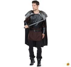 Herren Kostüm Mittelalter Prinz Nachtwache Wolfskrieger King of Thrones King Of Thrones, Black And Brown, Winter Jackets, Products, Fashion, Middle Ages, Get Tan, Black, Winter Coats