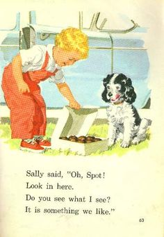 I remember learning how to read with Dick and Jane.