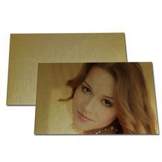 Gold Metal Pearl Sparking Board-15*20cm