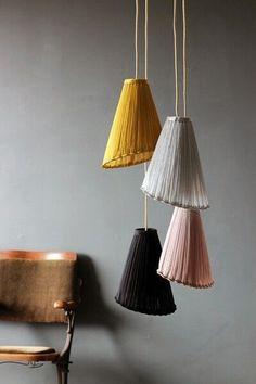Diy Lamp Shade Fabric Lampshades 20 Ideas For 2019 Home Lighting, Pendant Lighting, Lighting Stores, Industrial Lighting, Lighting Ideas, Modern Lighting, Lighting Design, Track Lighting, Pendant Lamps