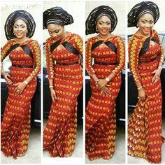 Beautiful Ankara Gown Design http://www.dezangozone.com/2016/06/beautiful-ankara-gown-design_24.html