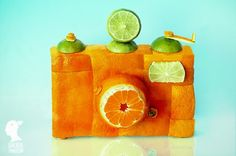 orange and lime camera