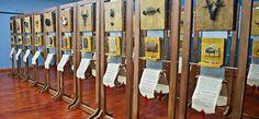 Μουσείο Τυπογραφίας Γιάννη & Ελένης Γαρεδάκη Magnetic Knife Strip, Knife Block, Travel, Viajes, Traveling, Tourism, Outdoor Travel