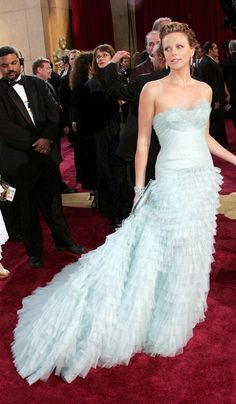 Charlize Theron in Christian Dior - 2005, oscars, The Best Oscar Dresses Ever, red carpet