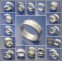#Förlovningsringar #Vigselringar #engagementrings #weddingrings www.instagram.com/tinamnsmycken Personalized Jewelry, Rings For Men, Instagram, Personalised Jewellery, Custom Jewelry, Men Rings