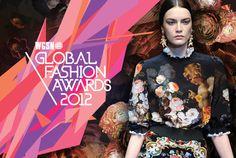 WGSN 2012 Global Fashion Awards brand identity