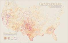 Moving drought boundaries