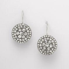 FOSSIL® Jewelry Earrings:Women Glitz Disc Earring JF00134