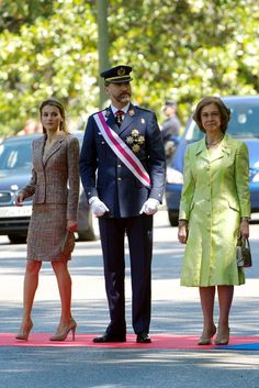 Princess Letizia - Spanish Royals Attend the Armed Forces Day Event