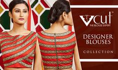Designer Blouses to match with various sarees. To shop, log onto http://www.indiansilkhouseagencies.com/designer-blouse/ #IndianSilkHouseAgencies #AllSilks #DesignerBlouse