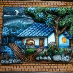 Paisajes tipicos costarricenses en oleo buscar con google cuadros pintura al oleo paisajes - Pintar tejas de barro ...