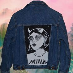 Image result for painted denim