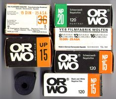 Original DDR ORWO films 120 format and reversal film format (How to . - Original DDR ORWO films 120 format and reversal film format (as is still used today). The fil - Ddr Museum, Old Couples, Good Old Times, Old Anime, Architecture Old, Vintage Cameras, Old Paper, Old Art, Everyday Objects