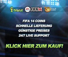 FIFA14 Coins mit günstigen Preise von IGVault zum Verkauf. Klick http://www.igvault.de/fifa-14/coins/fifa-14_de.html zum Coins Kauf!