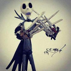 Jack Scissorhands.