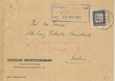 Potsdam Deutsche Investitionsbank Stalinalllee 130 nach Guben