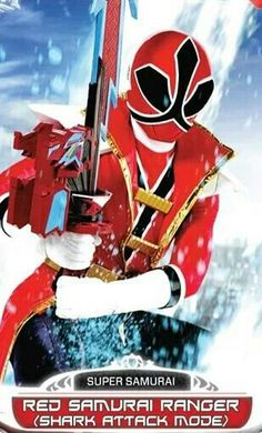 Red Samurai Power Ranger