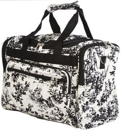 World Traveler Toile Collection Travel Duffle Bag * Unbelievable item right here! : Christmas Luggage and Travel Gear Black And White Bags, Duffle Bag Travel, Duffel Bags, Gadget Gifts, Camping And Hiking, Backpack Purse, World Traveler, Travel Luggage, Gym Bag