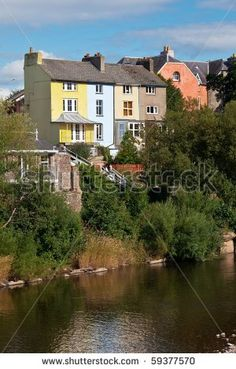 House By A River Uk Stock Photos, Images, & Pictures   Shutterstock