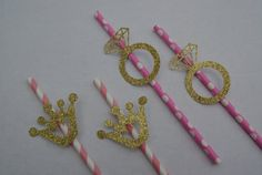 Glittery Gold Ring and Crown Straws- Hen Party Paper Straws Wedding Table Decor Hen Party Accessories, 30th Birthday Parties, Paper Straws, Party Tableware, Unique Weddings, Wedding Table, Wedding Decorations, My Etsy Shop, Unique Jewelry