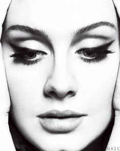 Adele in the March 2012 issue of Vogue. Photographed by Mert Alas and Marcus Piggott and fashion editor Tonne Goodman.
