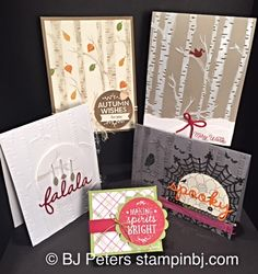 Among the Branches, Stampin' Up!, BJ Peters, Woodlands