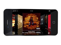 Your favorite Artwork to illustrate your album on your Iphone