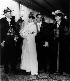 Wedding of Yves Klein and Rotraut Uecker, Church of Saint-Nicolas-des-Champs, Paris, January 21, 1962. © 2010 Artists Rights Society (ARS), New York/ADAGP, Paris. Courtesy Yves Klein Archives