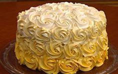 Bolo Degradê é a sugestão de sobremesa para o Dia das Mães