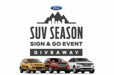 Win a 2016 Ford Explorer