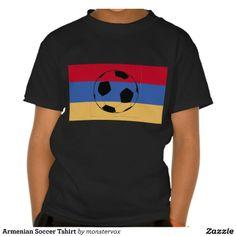 Armenian Soccer Tshirt  #Armenia #Soccer #Sports #Tshirt