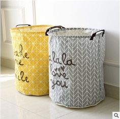 Cheap dirty clothes storage, Buy Quality dirty clothes directly from China laundry basket Suppliers: Cartoon Folding Laundry Baskets Dirty Clothes Storage Bag Cotton Linen Washing Hamper Linen Storage, Laundry Storage, Laundry Hamper, Fabric Storage, Laundry Box, Fabric Organizer, Bathroom Laundry, Small Bathroom, Storage Buckets