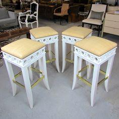 Jan Showers Coco bar stools.