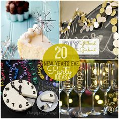 20 New Years Eve Party Ideas!! -- Tatertots and Jello