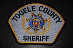 Tooele County Sheriff Patch, Utah (Current Issue)