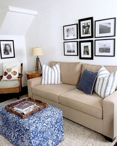 My client, Patty recently moved into a darling beach cottage on Lido Isle in Newport Beach.             Many of the furnishings we h...