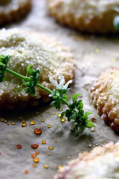 White Peach, Rose, and Basil Hand Pies by Beth Kirby | {local milk}, via Flickr