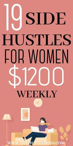 In today's post, I am sharing high paying ideas for side hustles you can start today. Thanks to the amazing invention that is the internet, looking for odd jobs is now easier than ever. I personally think that having one or two side hustles in addition to your main job is the way to go. Let me state the absolute obviou Ways To Earn Money, Earn Money From Home, Earn Money Online, Way To Make Money, Money Fast, Online Earning, Best Online Jobs, Online Jobs From Home, Online Work