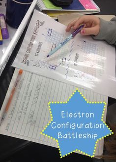 Hands on orbital diagram and electron configuration activity using its aaallgood electron configuration battleship fandeluxe Gallery