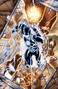 THE FLASH ANNUAL #3 Written by ROBERT VENDITTI and VAN JENSEN Art by BRETT BOOTH, RON FRENZ, NORM RAPMUND and LIVESAY Cover by BRETT BOOTH a...