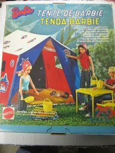 Barbie campeggio