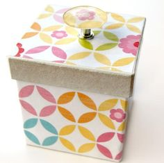 DIY Crafts : DIY gift box for packing the gift