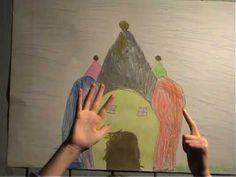 Fingerspiel-TV, Folge 4: Das Märchen von den fünf Sängern - YouTube