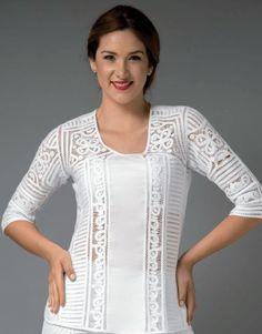Ventas por catálogo - Comienza tu propio negocio con un producto único y sin competencias Needle Lace, Crochet Clothes, Jeans, Sewing Patterns, Trousers, Tunic Tops, Skirts, How To Wear, Dresses